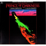 "Prince Of Darkness (Original Motion Picture Soundtrack)  John Carpenter in association with Alan Howarth, OST, LP, vinila plate, 12"" vinyl record"