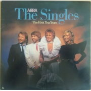 "ABBA - The Singles (The First Ten Years), LP, vinila plate, 12"" vinyl record"