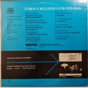 "Brno Radio Pops Orchestra - Famous Melodies For Strings, LP, vinila plate, 12"" vinyl record"