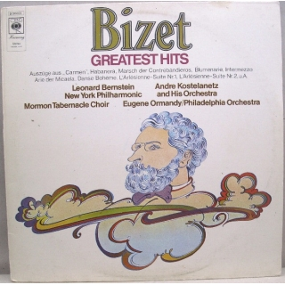"Georges Bizet - Greatest Hits, LP, vinila plate, 12"" vinyl record"