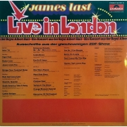 "James Last - Live In London, LP, vinila plate, 12"" vinyl record"
