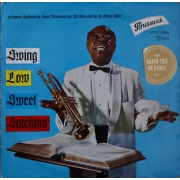 "Louis Armstrong - Swing Low Sweet Satchmo, LP, vinila plate, 12"" vinyl record"