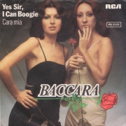 "Baccara - Yes Sir, I Can Boogie, Single, vinila plate, 7"" vinyl record"
