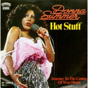 "Donna Summer - Hot Stuff, Single, vinila plate, 7"" vinyl record"