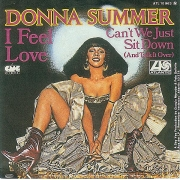 "Donna Summer - I Feel Love, Single, vinila plate, 7"" vinyl record"