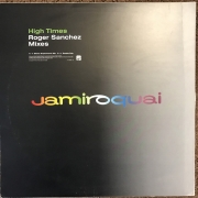 "Jamiroquai - High Times - Roger Sanchez Mixes, Maxi-Single, 45 RPM, 12"" vinyl record"
