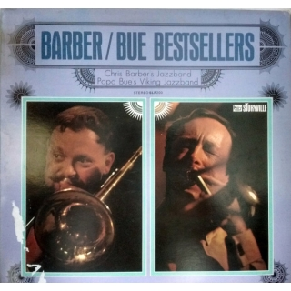 "Papa Bue's Viking Jazz Band - Barber / Bue Bestsellers, LP, vinila plate, 12"" vinyl record"