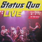 "Status Quo - Live At The N.E.C., LP, vinila plate, 12"" vinyl record"