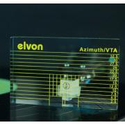 Skaņuplašu galviņas līmeņa līneāls & līmeņrādis / Phono Cartridge Azimuth Ruler