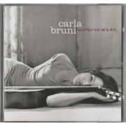 Carla Bruni - Quelqu'un M'a Dit, CD, Digital Audio Compact Disc