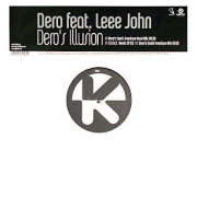 "DJ Dero - Dero's Illusion, Maxi-Single, 45 RPM, 12"" vinyl record"
