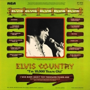 "Elvis Presley - Elvis Country (I'm 10,000 Years Old), LP, vinila plate, 12"" vinyl record"
