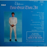 "Elvis Presley - How Great Thou Art, LP, vinila plate, 12"" vinyl record"