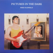 "Mike Oldfield - Pictures In The Dark, Maxi-Single, 45 RPM, 12"" vinyl record"