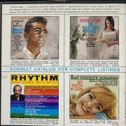 Ray Conniff And His Orchestra & Chorus - Rhapsody In Rhythm, Reel-To-Reel, 4-track tape, tape, magnetafona lenta