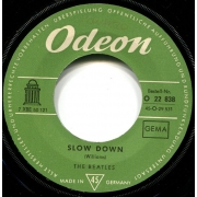 "The Beatles - Slow Down, Single, vinila plate, 7"" vinyl record"