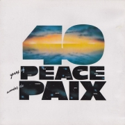 "NATO 1949 - 1989 - 40 Years Of Peace / 40 Annees De Paix - Various Artists, LP, vinila plate, 12"" vinyl record"