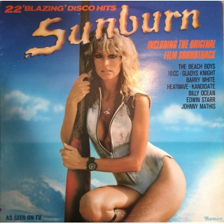 "Various - Sunburn - 22 'Blazing' Disco Hits Including The Original Soundtrack, LP, vinila plate, 12"" vinyl record"
