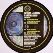 "Wyrus - Basstardz EP, Maxi-Single, 45 RPM, 12"" vinyl record"
