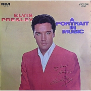 "Elvis Presley - A Portrait In Music, LP, vinila plate, 12"" vinyl record"