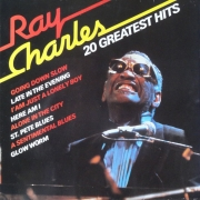 "Ray Charles - 20 Greatest Hits, LP, vinila plate, 12"" vinyl record"