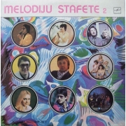 "Melodiju Stafete 2 - Various Artists, LP, vinila plate, 12"" vinyl record"