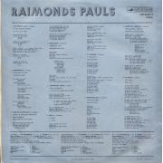 """Raimonds Pauls – Priekšnojauta, estrādes dziesmas, LP, vinila skaņuplate, 12"""" vinyl record"""